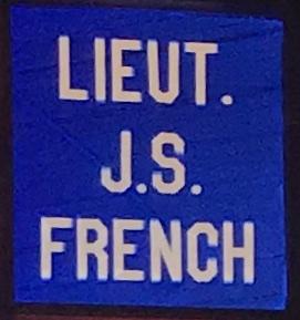 Lieutenant John S. French, Albion, ME